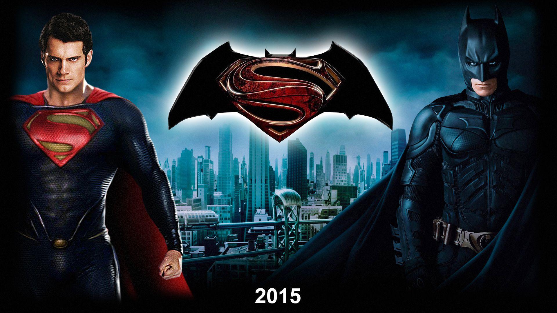 Unique Batman Vs Superman Bedroom Ideas That Rock: 3D Wallpaper Of Superman And Batman - 2015