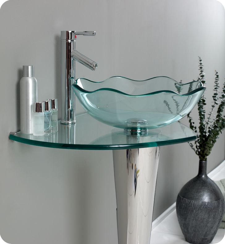 glass bathroom sinks, Home design
