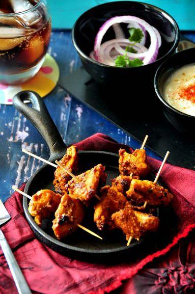 Chicken Tikka Kebab | Recipe from Cook Like a Bong