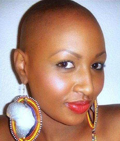 Hairstyle For Big Head Girl: Pin By Janis Johnson On Bald And Beautiful