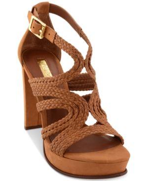 a93eda62e64 Lauren Ralph Lauren Aleena Platform Sandals - Polo Tan 5.5M ...