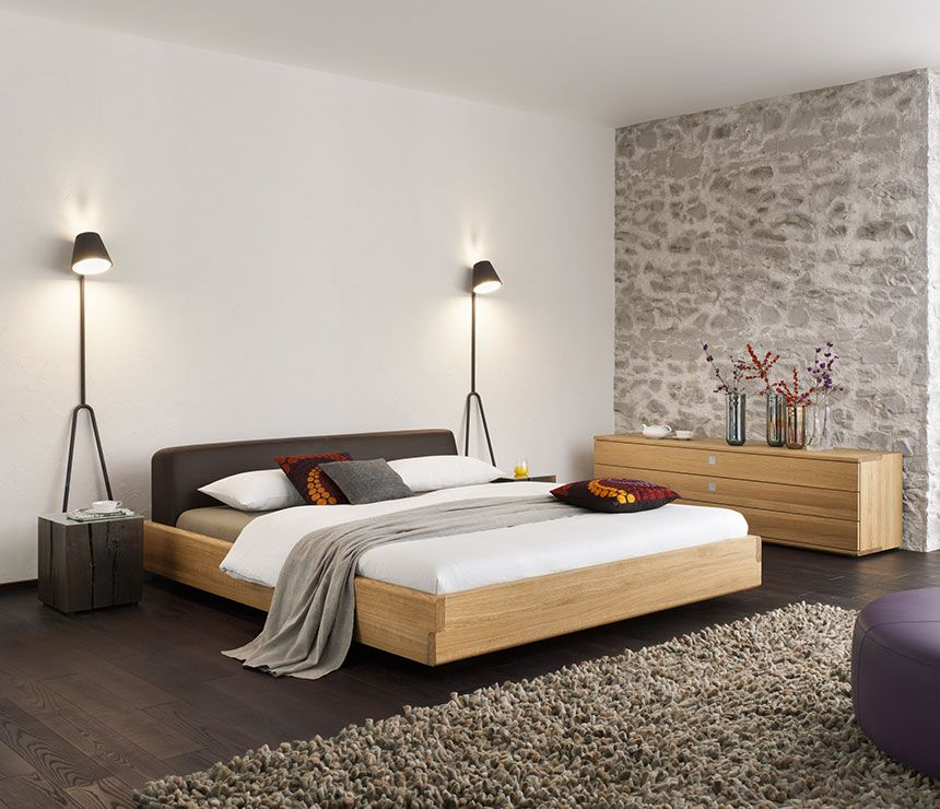 Team7 Nox Bed house Pinterest Wood beds, Bedrooms and Surrey