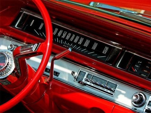 Classic Car Love The Red Interior Is It An Olds Or Pontiac Or A