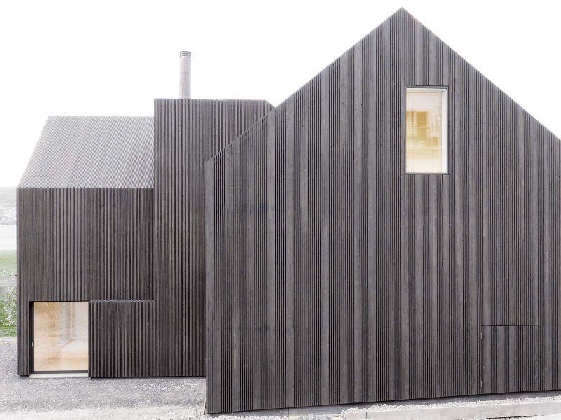 rossetti wyss architekten architecture pinterest holzfassade fassaden und fassade holz. Black Bedroom Furniture Sets. Home Design Ideas