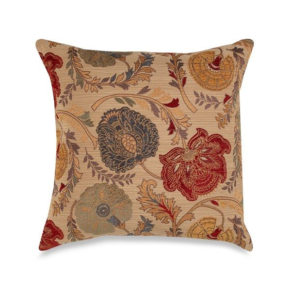 """Adelso Red 20"""" Square Toss Pillow"""