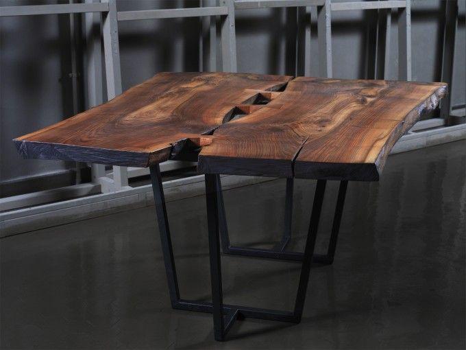 Tavolo cargo in noce tavoli pinterest - Tavoli pieghevoli da salotto ...