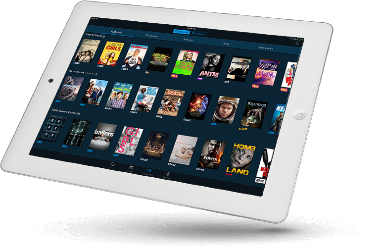 SET TV IPTV offers streaming on 3 devices a tablet app a