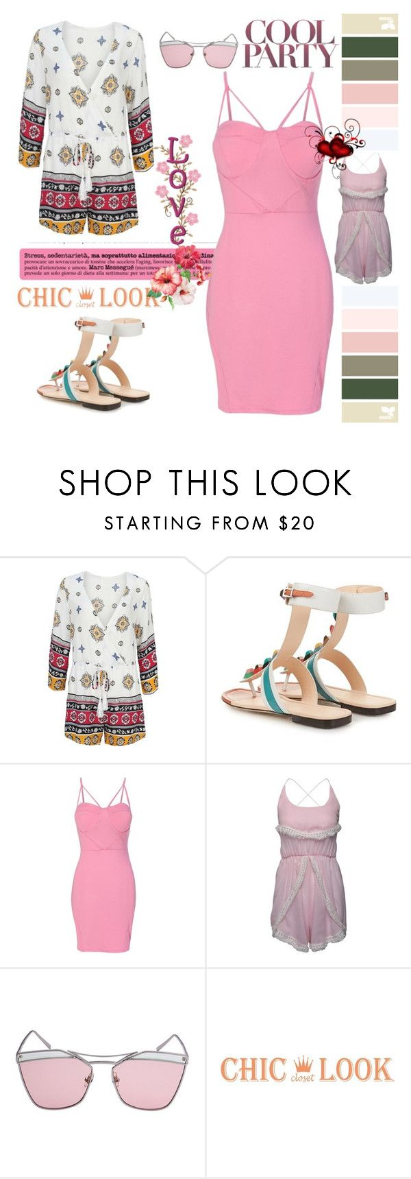 """Chiclookcloset - No. 14"" by hetkateta ❤ liked on Polyvore"