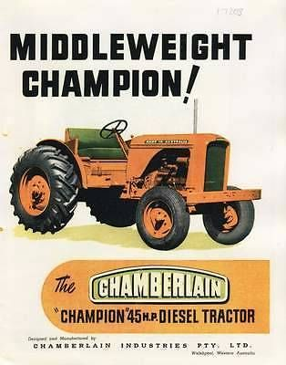 chamberlain champion 9G tractor parts | Farming Equipment