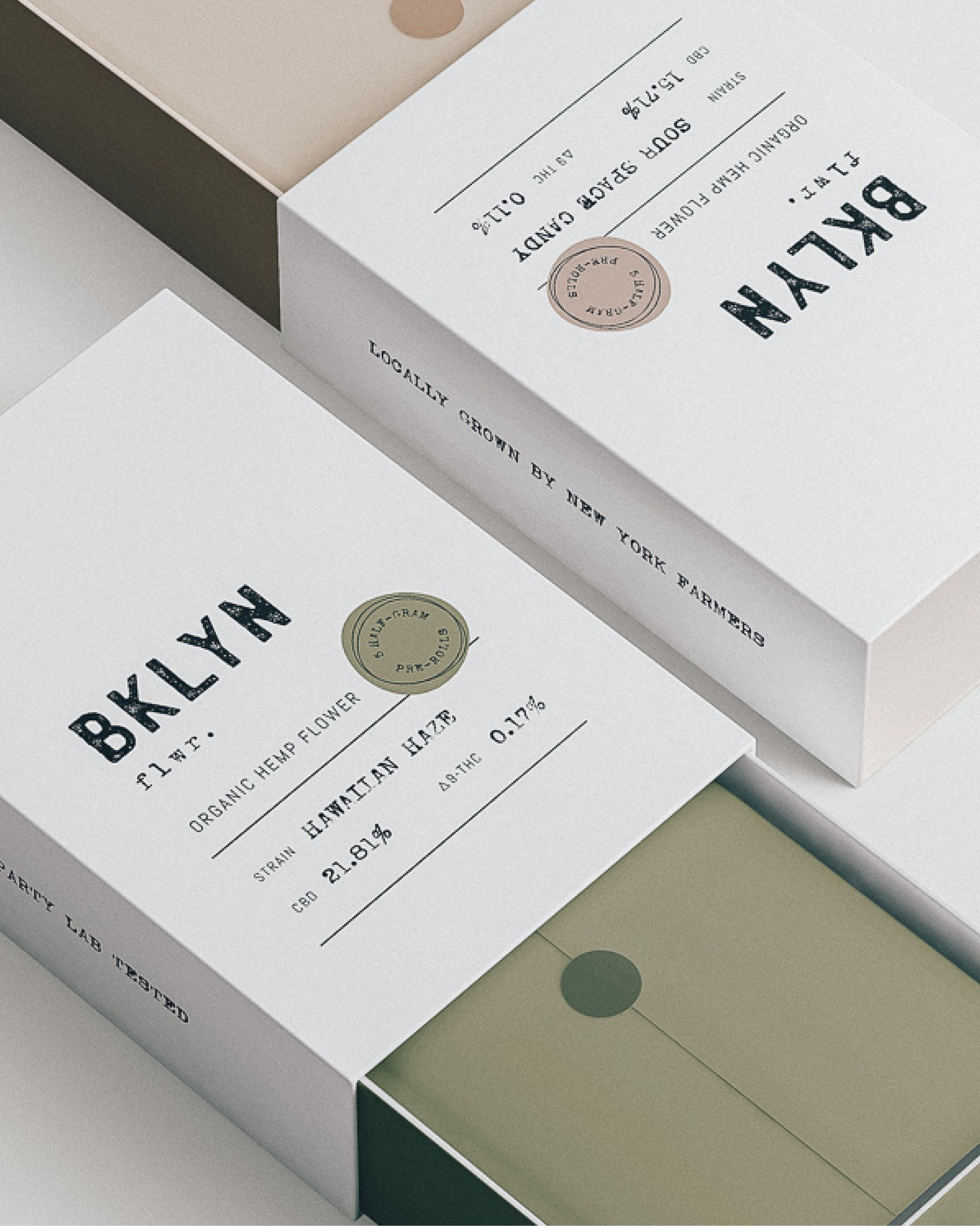 We designed a brand identity for BKLYN FLWR that blossomed into a handful of packaging, print, and social media projects. The look and feel of the brand's design emphasizes their commitment to quality and the magic of doing things by hand. #designinspiration #design #packagingdesign