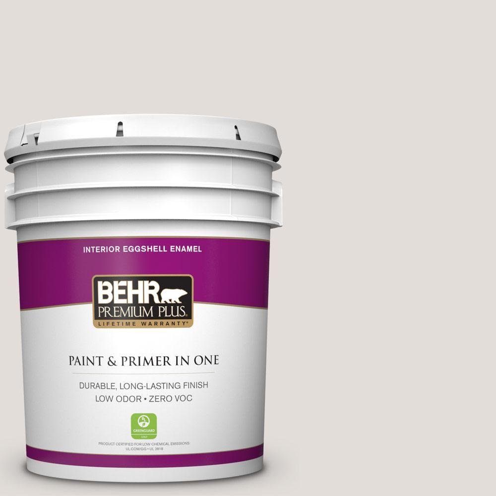 BEHR Premium Plus Home Decorators Collection 5 Gal. #hdc CT 17 Pale Starlet  Zero VOC Eggshell Enamel Interior Paint