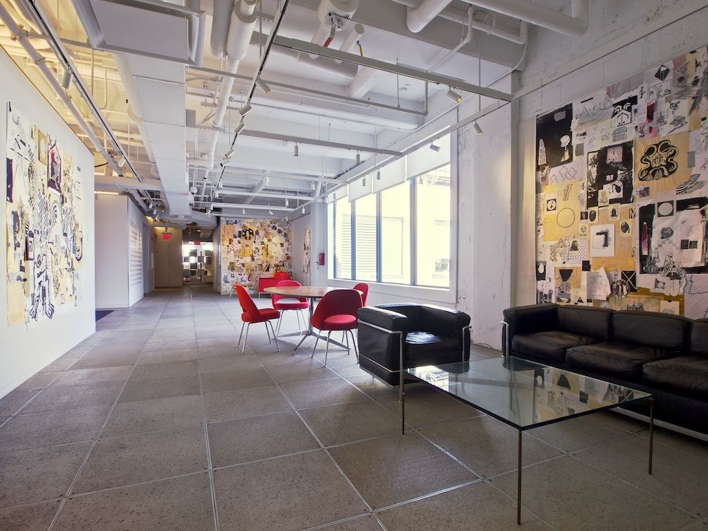 ogilvy new york office. We Had So Many Art Exhibits In Our Communal, Core Areas. It Was Nice Ogilvy New York Office L
