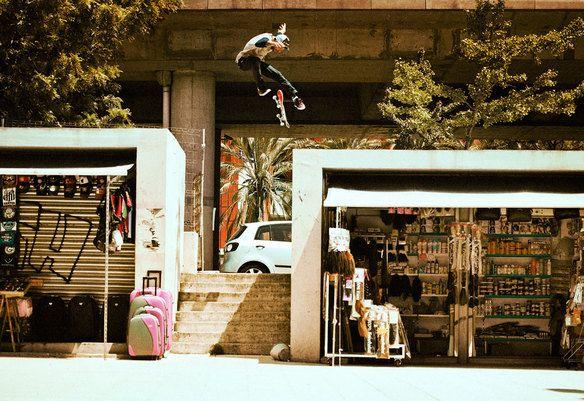 Street Piracy Skateboard Surfing Tum Yeto