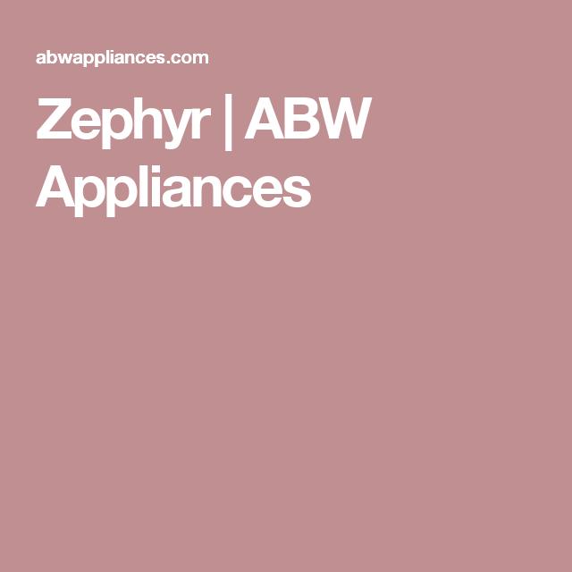 Zephyr Zephyr Gaggenau Appliances