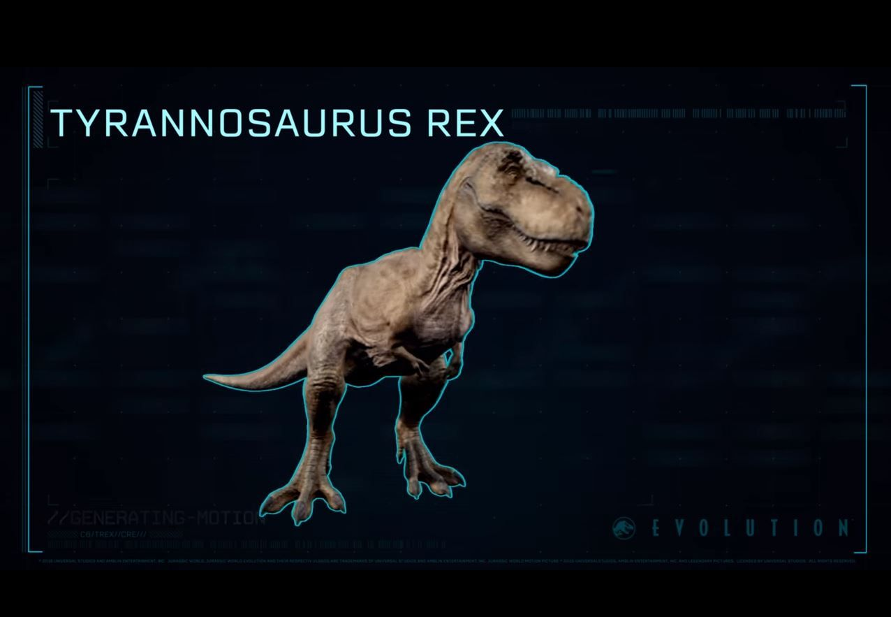 Jurassic World Evolution T Rex Tyrannosaure Rex Tyrannosaure