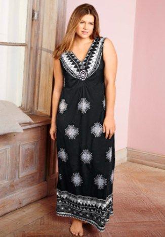 Maxikleider sommer große größen   Maxi kleider, Mode, Kleider