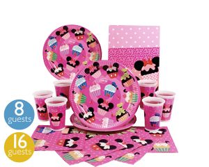 disney cupcake party tableware | disney cupcakes, disney party