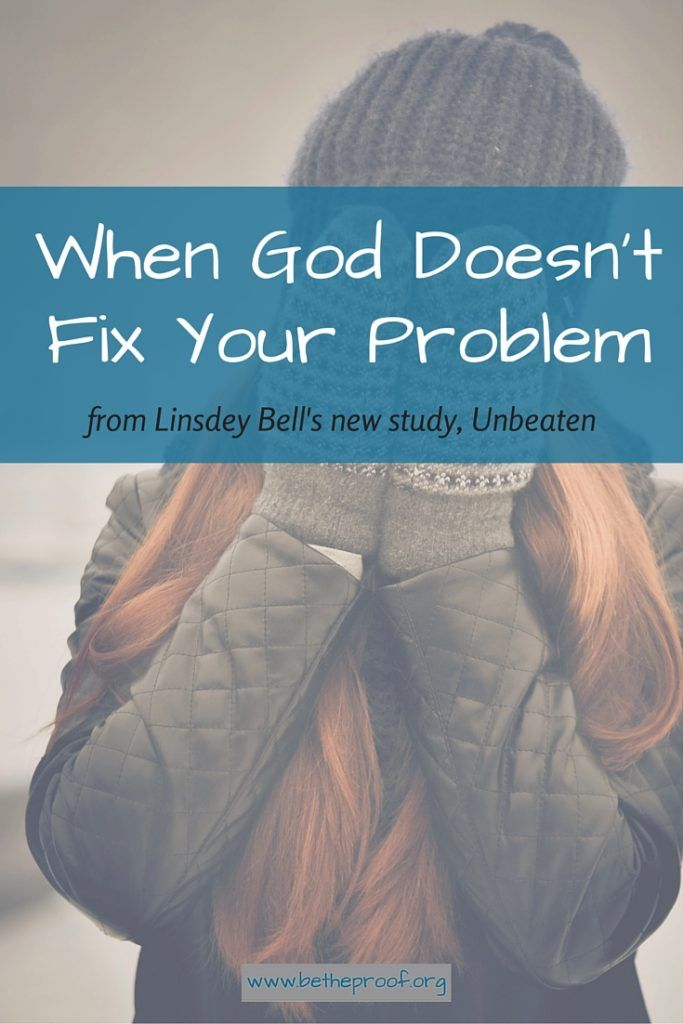 Why does life have to be so hard?  Difficult times often leave Christians searching the Bible for answers to the most difficult questions — Does God hear me when I pray? Why isn't He doing anything? Does He even care?  In Unbeaten, author Lindsey Bell shares the stories of biblical figures who went through tough times. Through this 10-week Bible study and devotional, she reminds readers that while life brings trials, faith brings victory. And when we rely on God for the strength to get us…