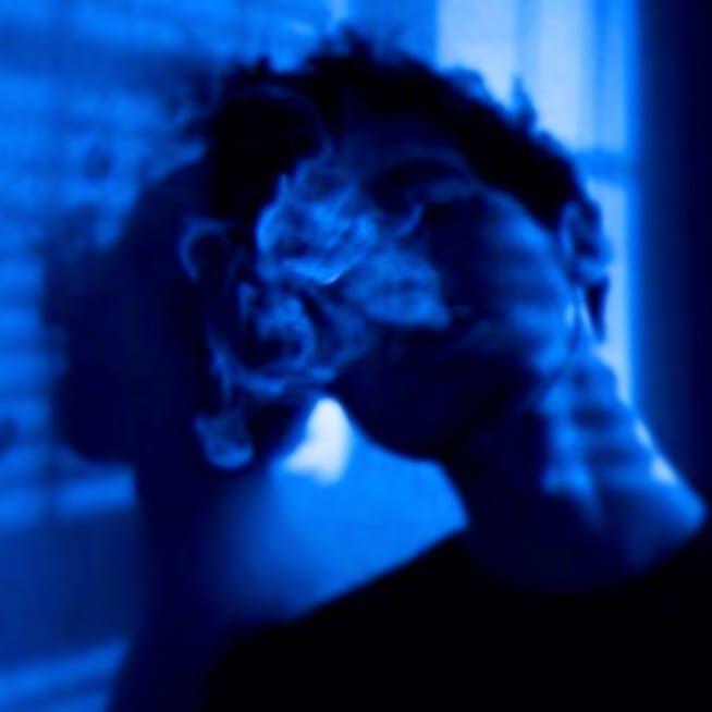 Aesthetic Blueaesthetic Blue Mood Vape Eyestrain Darkblueaesthetic Darkblue Deep Follow