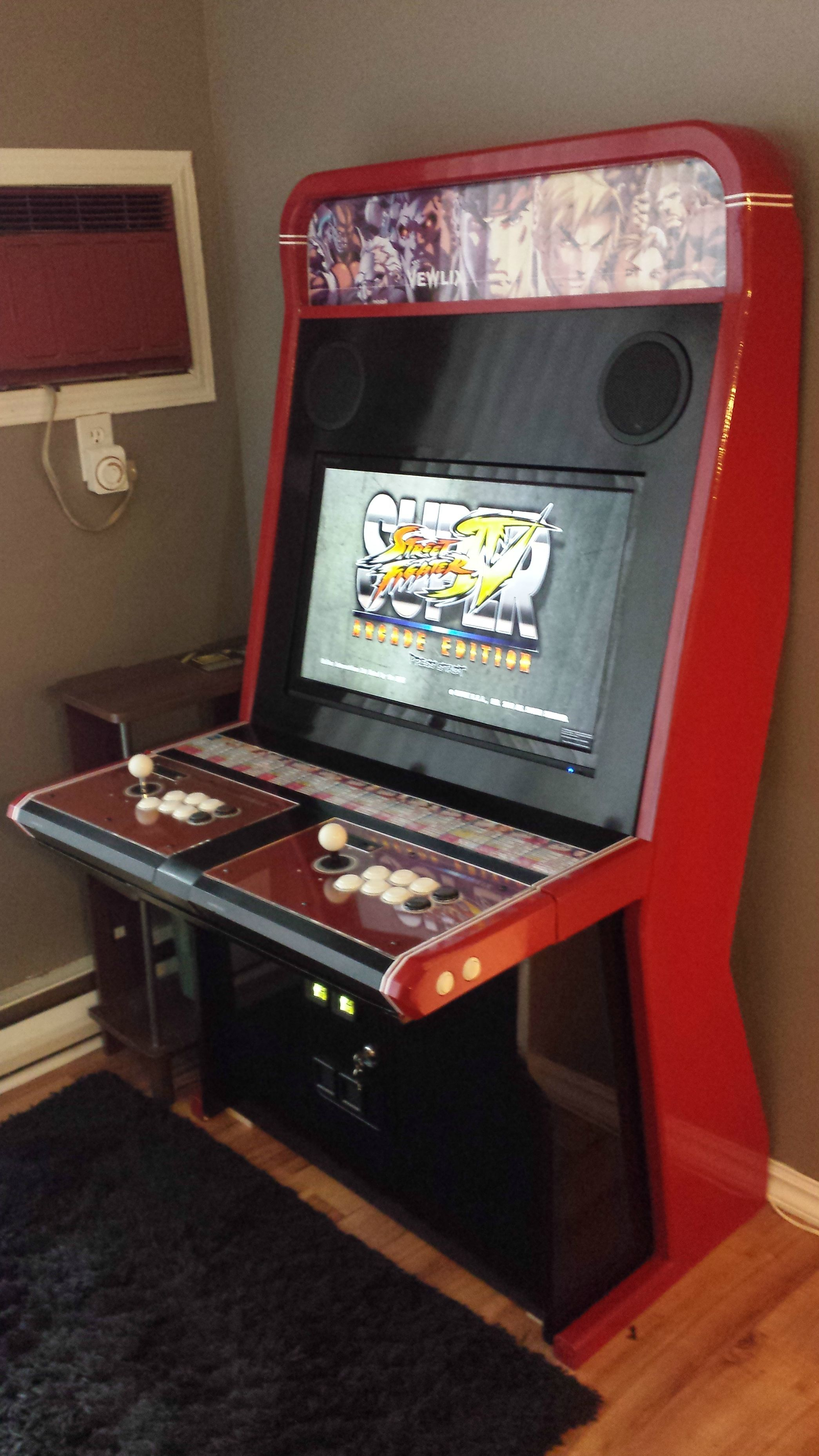 Custom Vewlix clone | Battle-station | Arcade room, Retro arcade