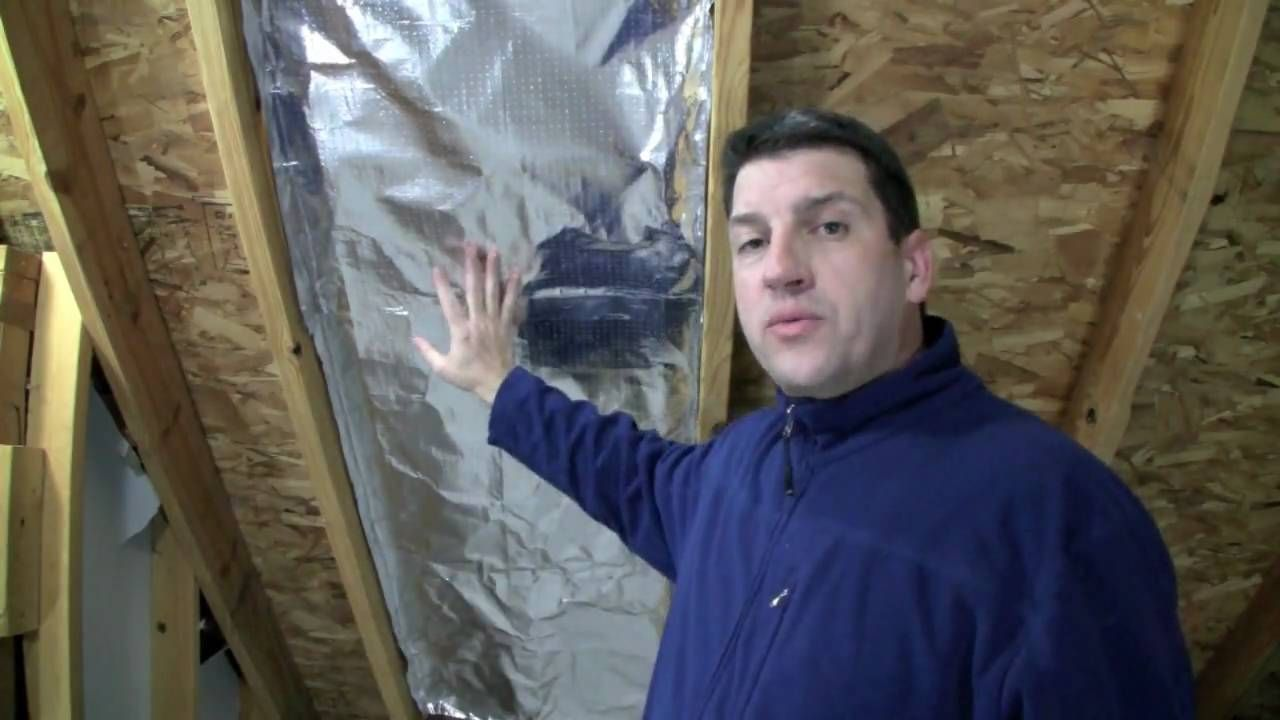 How To Install Radiant Barrier In A Cathedral Ceiling Radiant Barrier Cathedral Ceiling Mobile Home Repair
