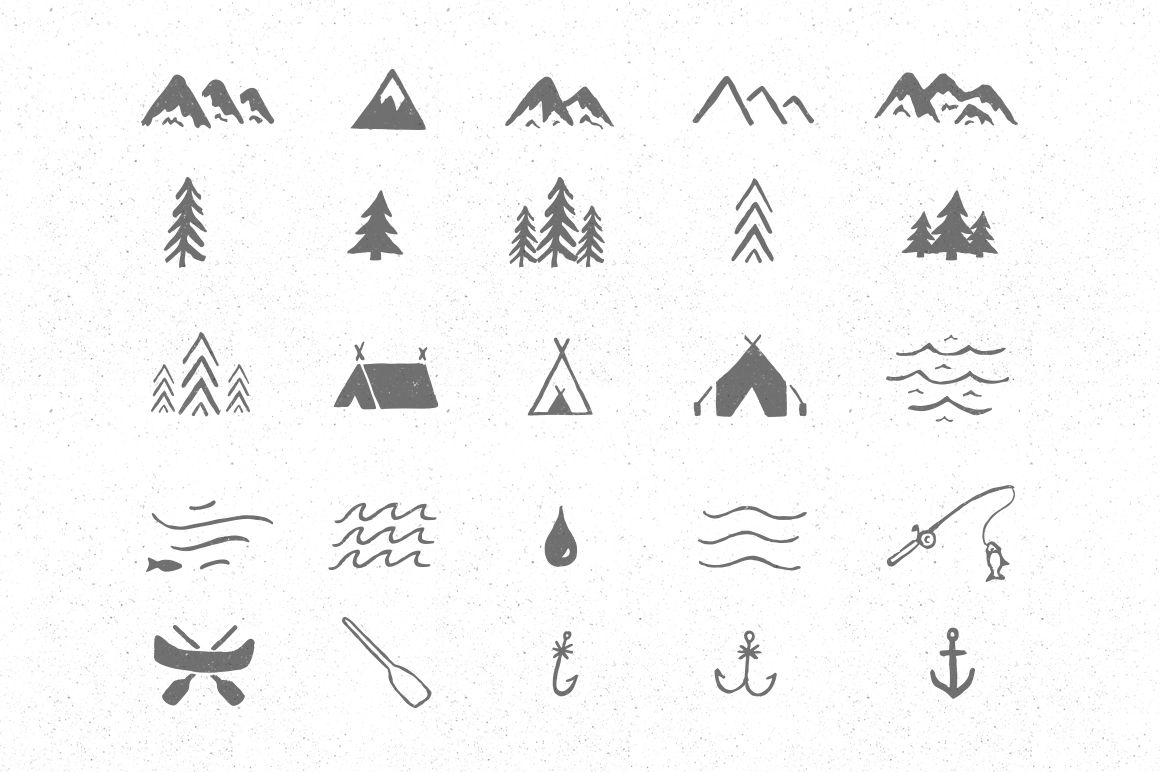 Adventure Icon Pack By Jackrabbit Creative On