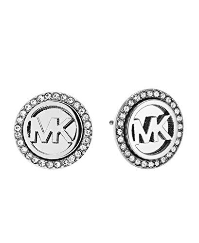 Michael Kors Heritage Women's Earrings Stainless Steel Silver MKJ4516040 GPU7E