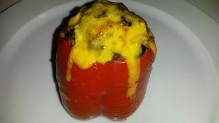 Bites by Berg: Fyldte peberfrugter - Spicy