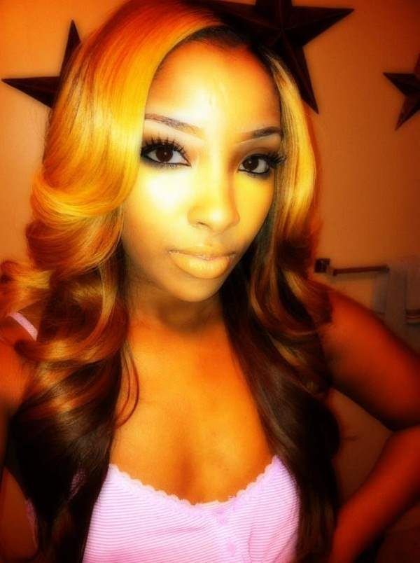 Black Hair Styles With Color Caramel Hair Color For Black Women