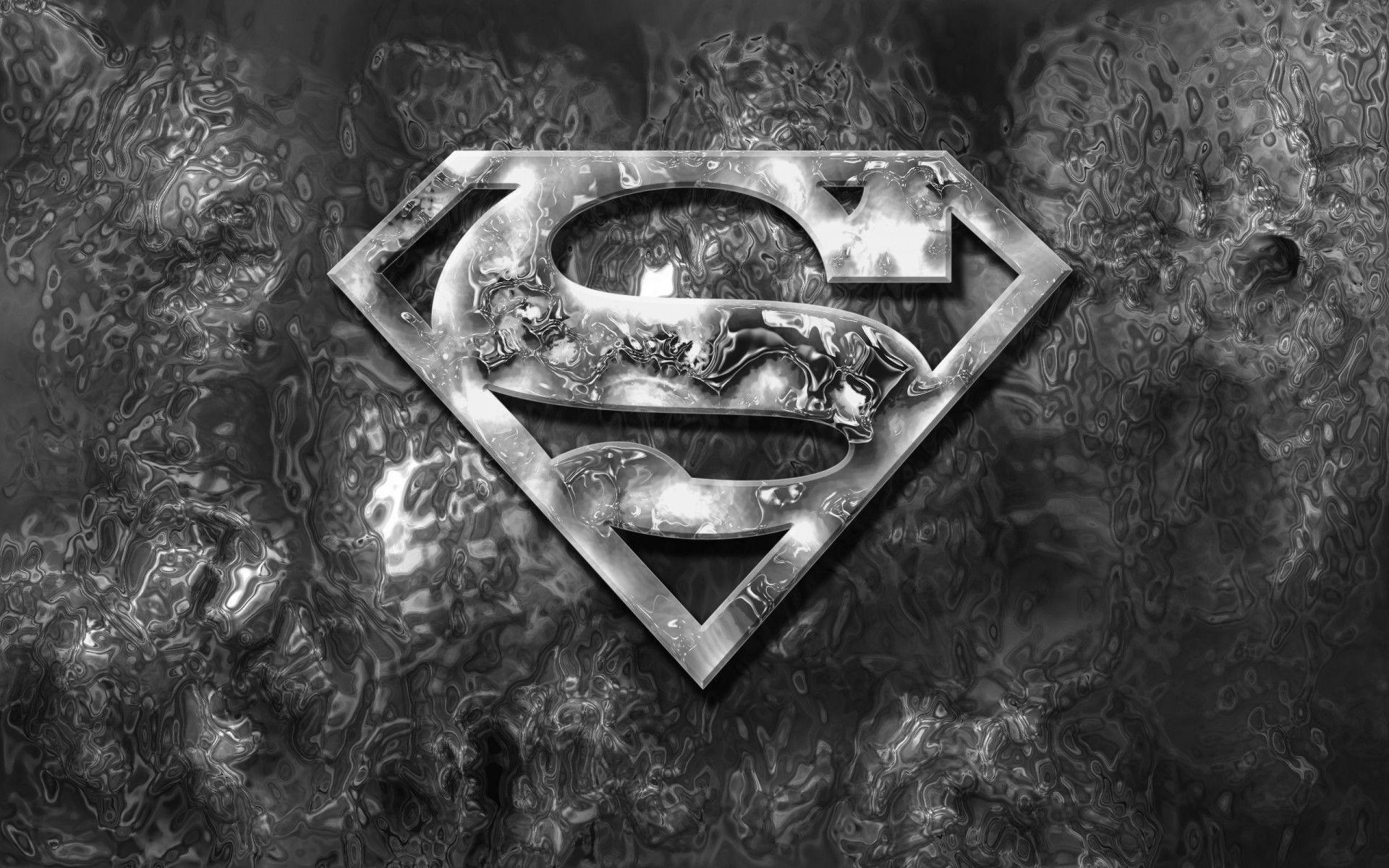 Hd wallpaper man - Man Of Steel Logo Hd Desktop Wallpaper High Definition 1920 1200 Superman Logo Wallpaper