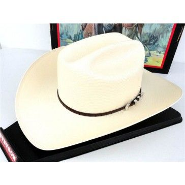 dfb185965 Stetson Cowboy Hat 100X Natural Straw Bar None | Cowboy Hats ...