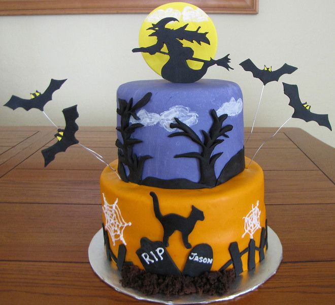 Halloween cake Cake Decorating Ideas Pinterest Halloween cakes - halloween cake decorating pictures