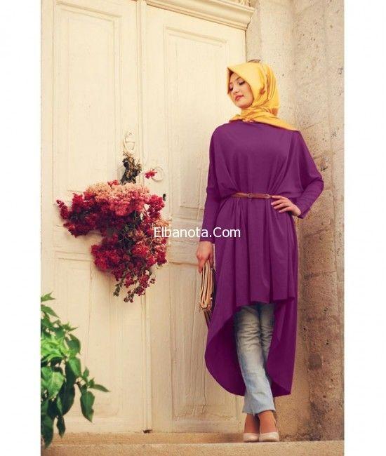 ملابس محجبات تركية موضة ملابس محجبات كاجوال اجمل ملابس محجبات صيفية موضة بنوته أزياء بنوته بنوته كافيه Muslimah Dress Fashion Colorful Fashion