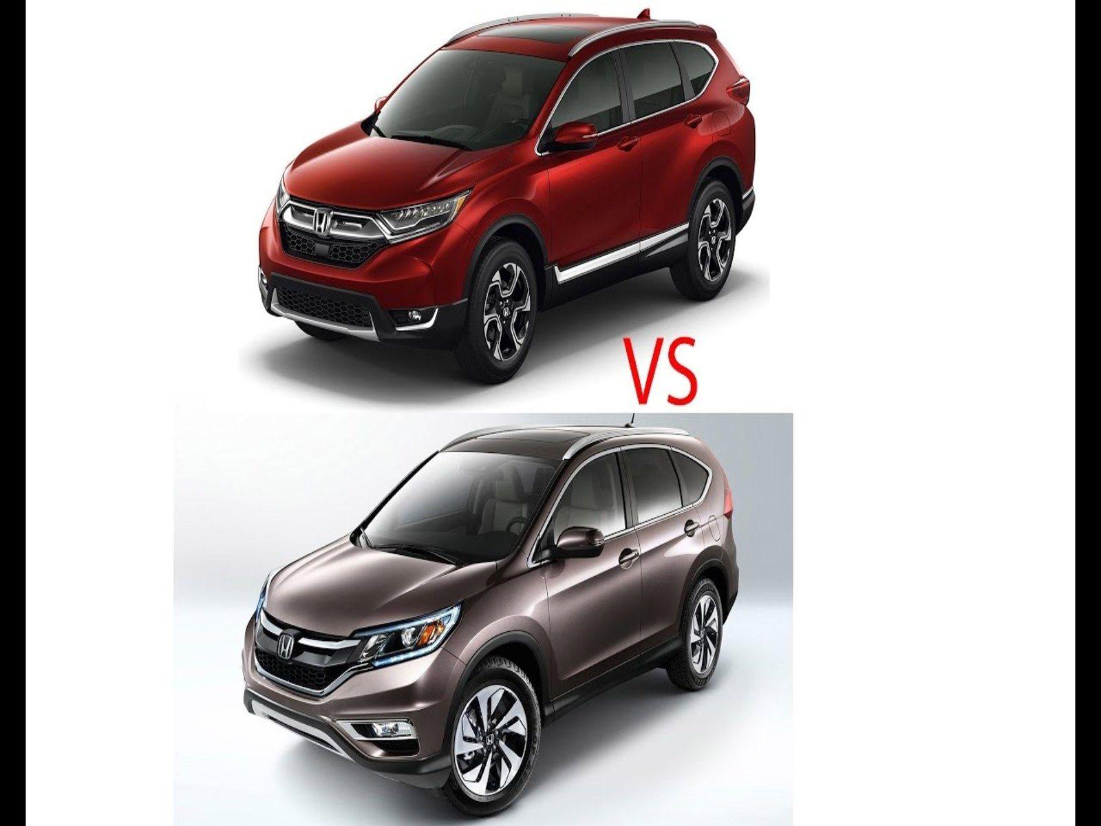 Compare Honda Crv 2016 Vs 2017