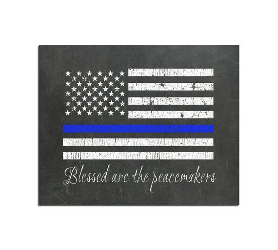 Printable Art Police Officer Gift Police Gifts Thin Blue Line Etsy In 2021 Police Officer Gifts Gifts For Office Police Gifts