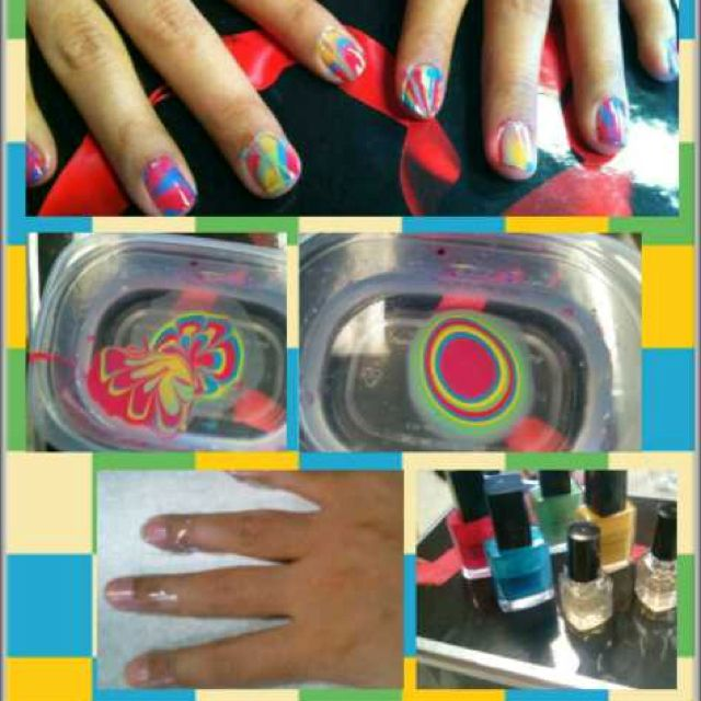 Below I Have Summarized The Steps By Steps How To Do Water Marble
