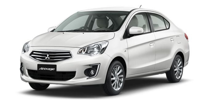Mitsubishi Attrage Might Get Going In India Mitsubishi Mitsubishi Lancer Car