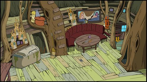 More Tree Fort Living Room Adventure Time
