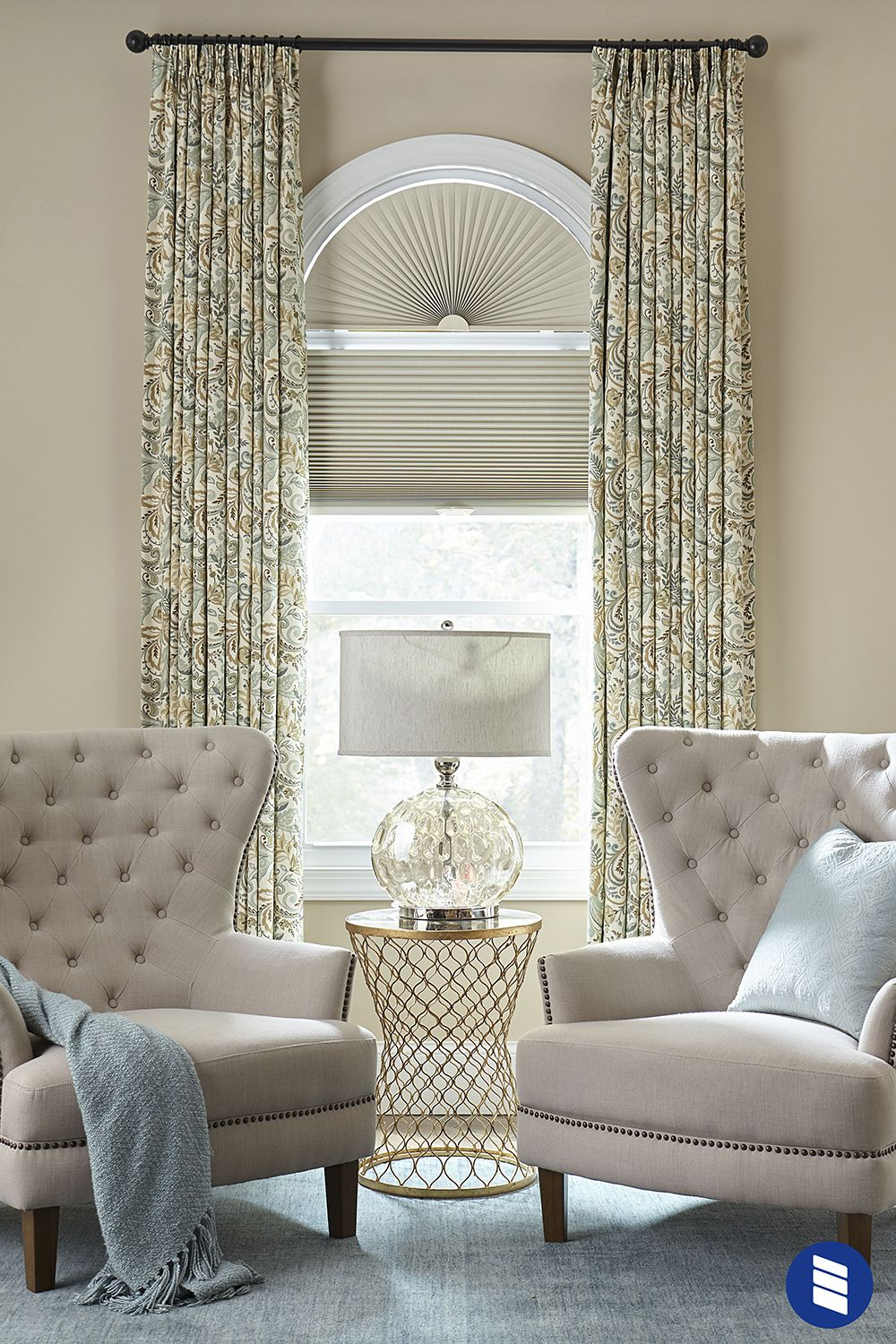 Premium Blackout Cellular Shade Window Treatments Living Room
