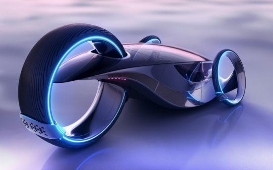 Evo5 Futuristic Sports Car Flaunts Roof Mounted Solar Panels