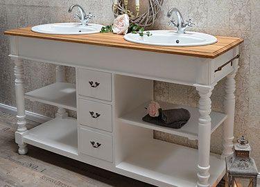 liebevoll aufgearbeitete antike badm bel im landhaus vintage und shabby chic stil jetzt. Black Bedroom Furniture Sets. Home Design Ideas