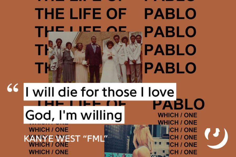 Https Genius Com Kanye West Fml Lyrics Kanye West Lyrics Fml Lyrics Lyric Poster