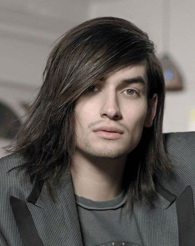 Corte pelo lacio largo hombre