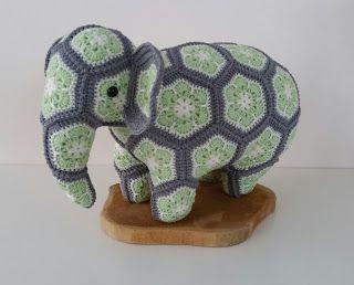 Loxodonta & Elephas the african flower elephants pattern by Anne ... | 258x320