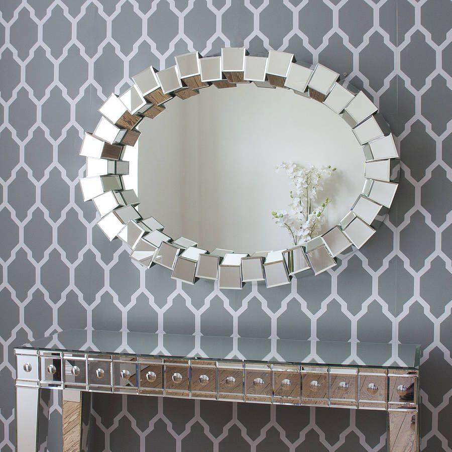 Contemporary Mirrors Modern Mirrors Pinterest Mirrors Online - Contemporary oval mirrors