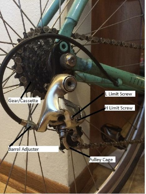 How To Tune Your Back Derailleur Fix It Bike Bicycle