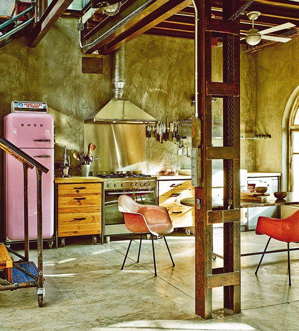 innenarchitektur industriellen stil karakoy loft, industrial vintage wohnhaus loft stil | boodeco.findby.co, Design ideen