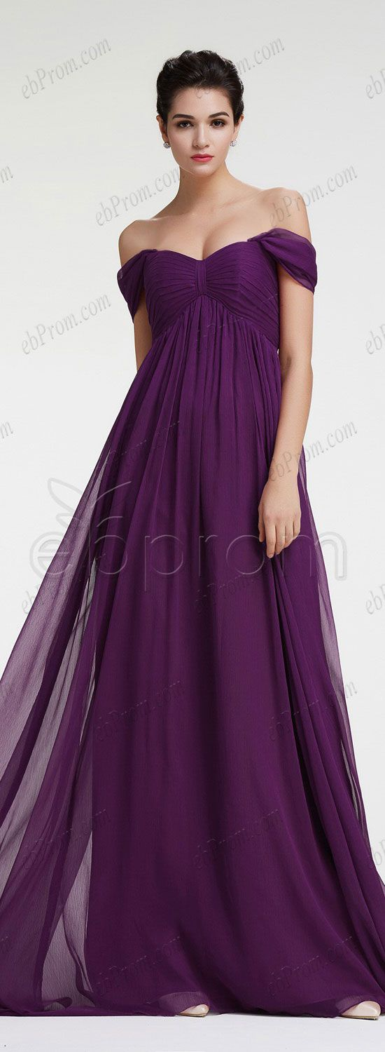 Dark purple maternity bridesmaid dresses plus size formal dress ...