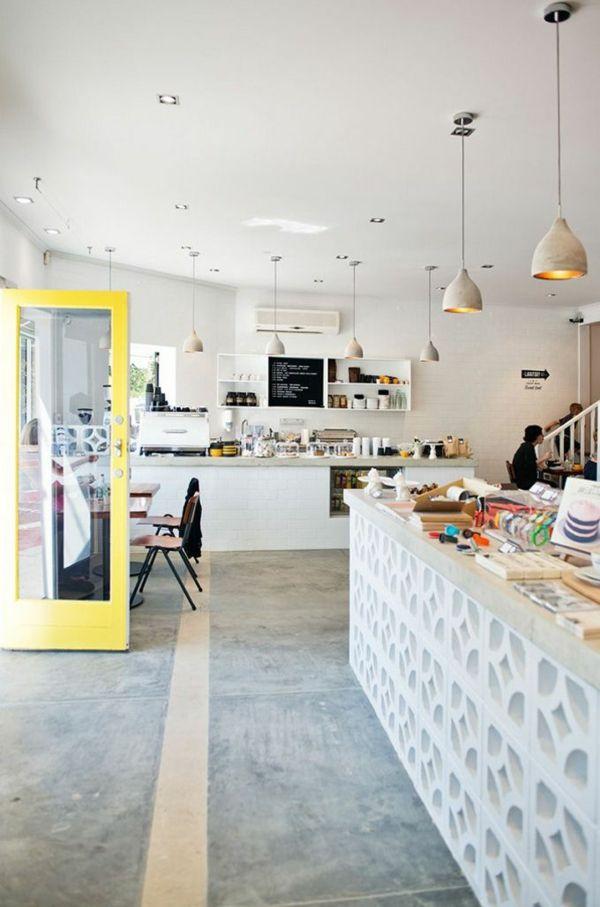 Wandfarbe Beton - wie kann man eine Betonwand streichen? Studios - küche streichen welche farbe