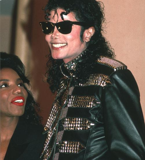 michael jackson leather studded jacket